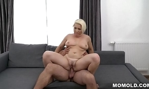 Busty mature copulates much younger guy - bibi pink