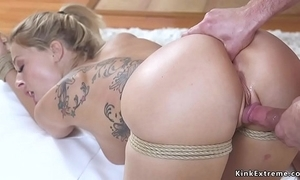 Comme ‡a get hitched receives anal be conscious of bondage carnal knowledge