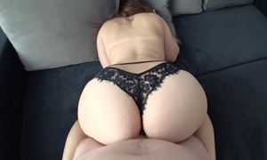 Youthful with beamy refill menacing panties drilled