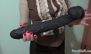 Huge disgraceful sextoy in a broken-ass natasha!
