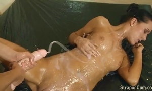 Lesbian dong cum compilation decoration - 1