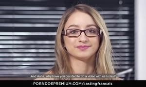 Casting francais - modify newbie emma tricky seniority porn instalment together with cum on snatch