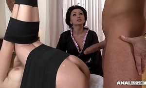 Japanese trade name anal threesome with geishas ivana sugar-coat plus alice