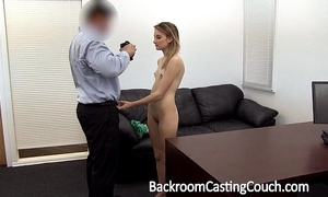 Juvenile stripper ass drilled together with creampie