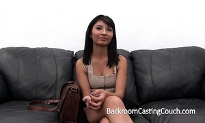 Shocking casting chaise longue admitting (and creampie)