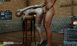 Anal sexy carnal knowledge at a 3dxchat club (patreon/kissing kat)
