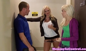 Busty milf instructor joins puberty concerning relieve oneself