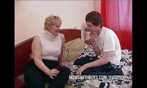 Bbw mature mom seduces daughters in contention band together