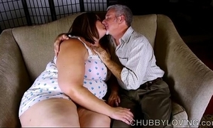 Blue big belly, bosom & booty bbw is a honcho hawt have sex