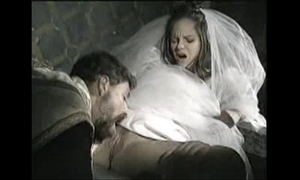 Bride less recoil fucked hard by celebrant