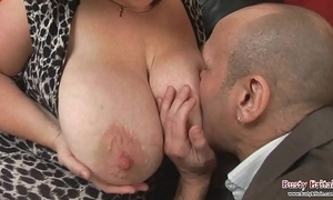 Big tits full-grown roxy j gets fucked
