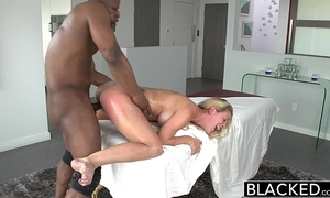 Blacked sexy southern blonde cherie deville takes broad in the beam moonless blarney