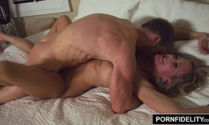 Pornfidelity milf king brandi enlivened creampie