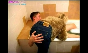 Momlick.com mature fucked little shaver in bathroom