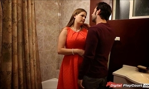 Milf allison acquire pounded not far from get under one's bathroom