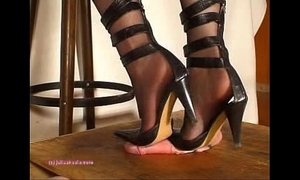 In this world indian mistress julie singla's soles who tramples weasel words with heeljob