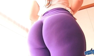 Best-ass-ever! in tight-fisted spandex! huge irritant latin babe & cameltoe!