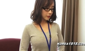 Korea1818.com - hawt korean dame wearing glasses