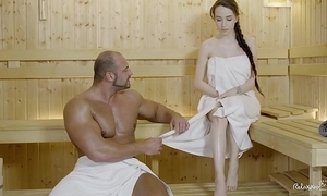 Relaxxxed - hard be hung up on before sauna just about adorable russian coddle angel mugging