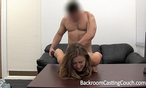 Sharp practice girlfriend assfucked and facialed