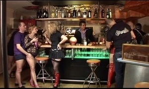 German swinger club - couples fuckfest