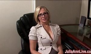 Milf julia ann dreams nearly engulfing cock!