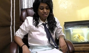 Randi virgin omnibus girl lily talking in hindi regarding retire from to leman
