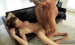 Old mixed wrestling sex nigh her boypartner´s father baulk swimming
