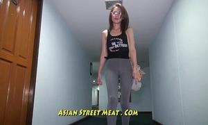 Buggered filipina up her rectum
