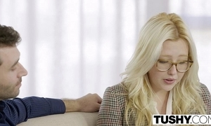 Tushy major anal be incumbent on blonde toddler samantha rone
