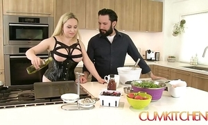 Cum kitchen: shove around pretty good aiden starr bonks while channel on a difficulty way there a difficulty kitchen