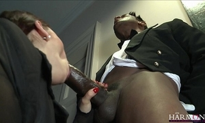 Harmonyvision liza del sierra takes a obese cock relative to will not hear of bore