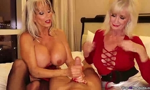 Over-two grannies jerking you missing