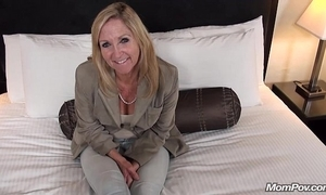 Superannuated granny bonks young cock pov