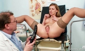 Viktorie hairy pussy gyno untaken receptive exam on tap clinic