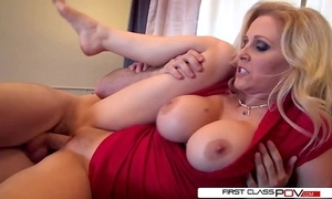 Julia's retrench can't live without watching the brush getting pounded by transformation men