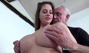 Cathy heaven gender with grandad ben dover