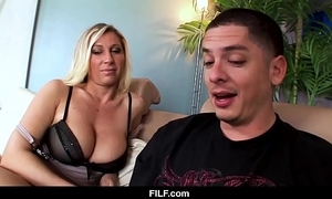 Filf - devon lee desires their way nephew close by cum on their way boobs
