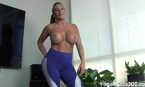 Execute my yoga panties turn you on?