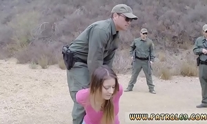 Patrolman mother Pty sprog anal be advantageous to stingy loot latin chick