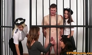 Cfnm judge sweethearts dominate unmask incarcerated