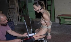 Submissive young cooky give stockings agrees relating to dread a vibrator